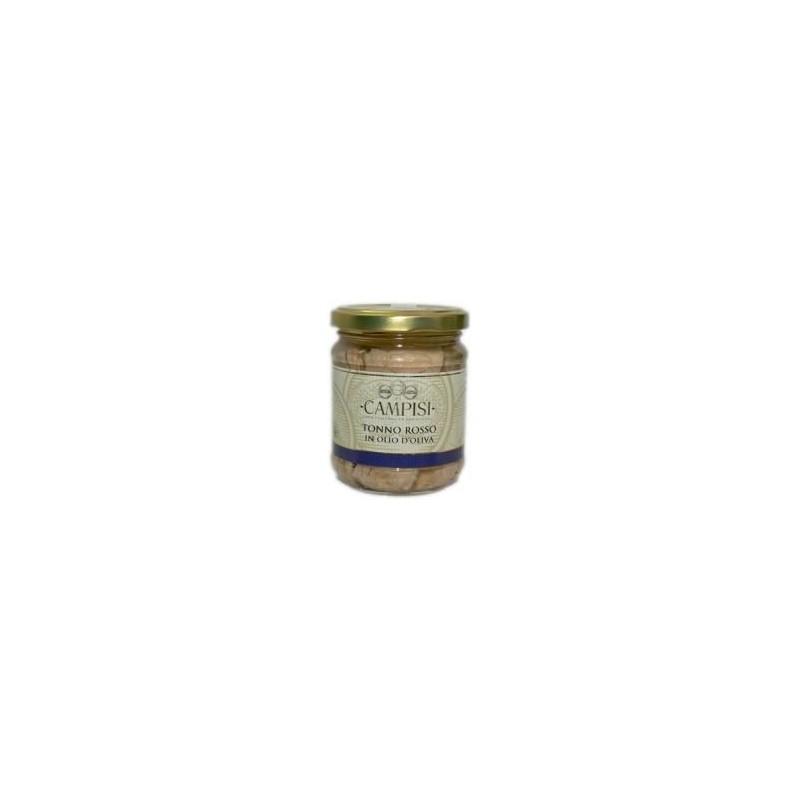 Tonno rosso in olio d'oliva