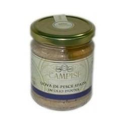 Uova di pesce spada in olio di oliva