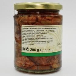Caponata di melanzane in aceto balsamico - Produzione