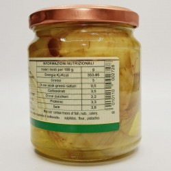 Carciofini sott'olio - Valori Nutrizionali