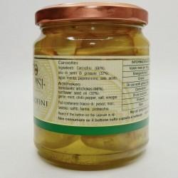 Carciofini sott'olio - Ingredienti
