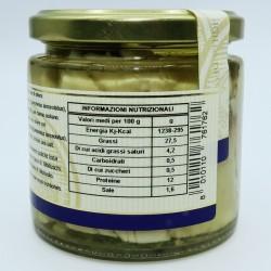 Cernia con capperi in olio di oliva - Valori Nutrizionali