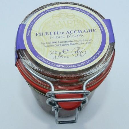 Filetti di acciughe Extra in olio d'oliva