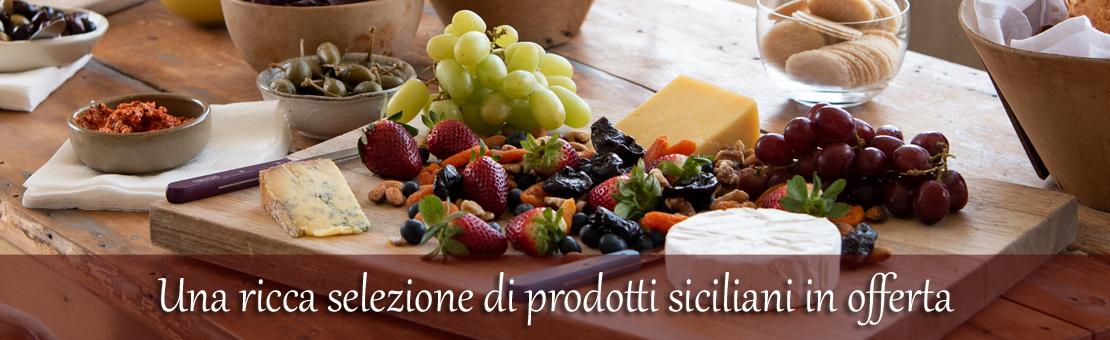 Una ricca selezione di prodotti siciliani in offerta